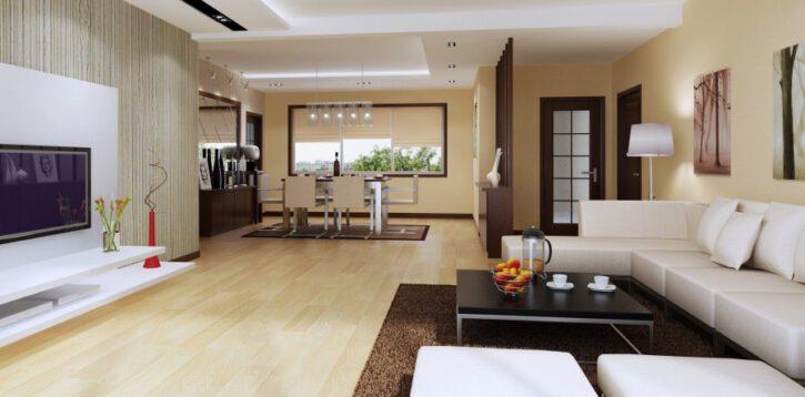 Indywidualne projekty wnętrz dla aranżacji domowej przestrzeni